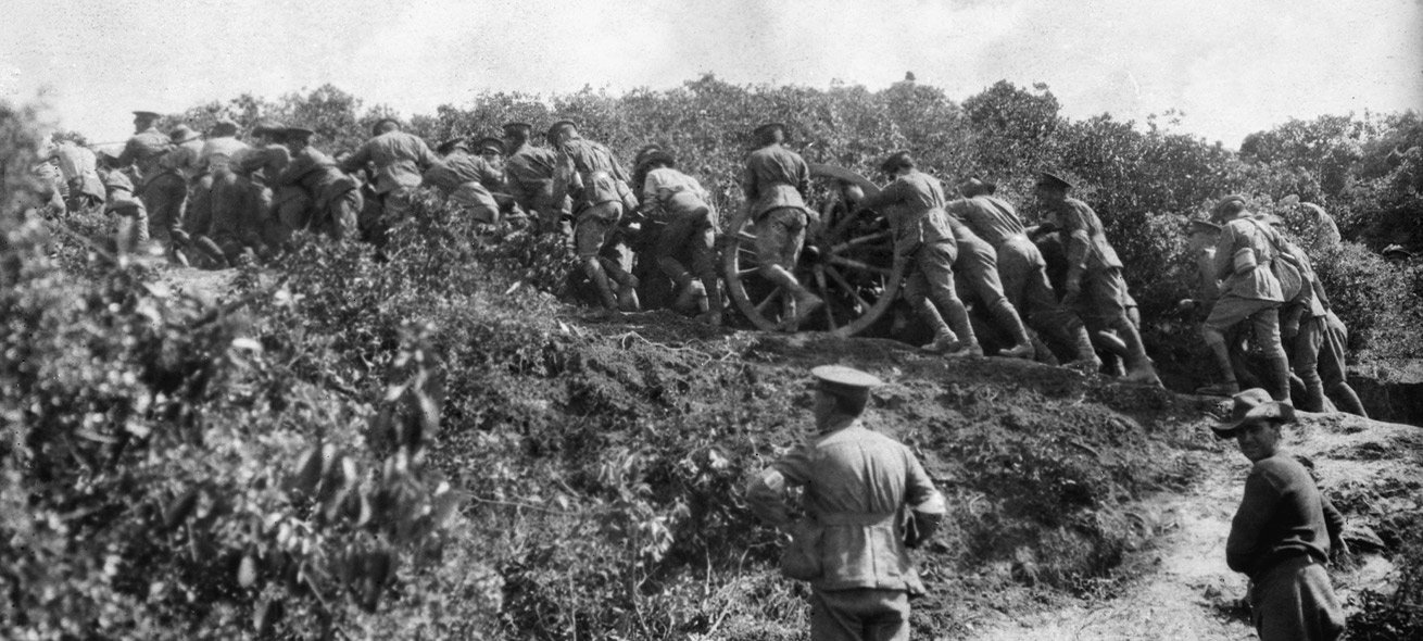 Military action at Gallipoli