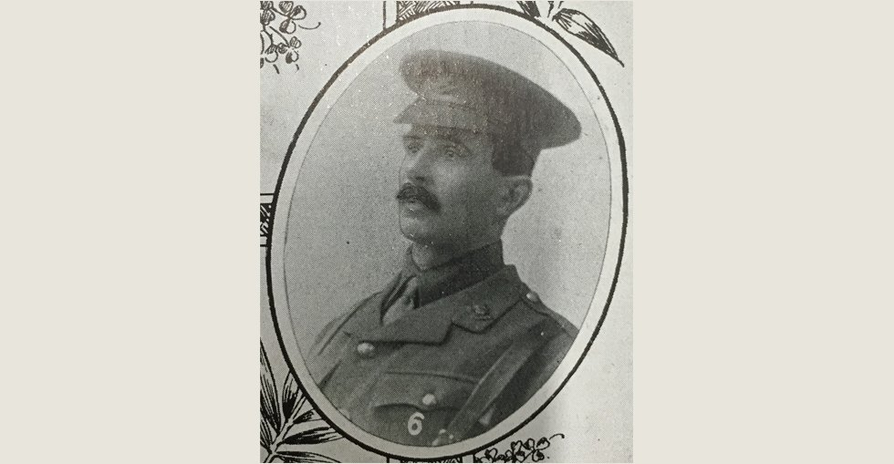 Capt John Wilfred Jenkinson of the 2nd RDF, MA, DSc, 12th Worchester Regiment, killed in the trenches in Gallipoli on 7 June 1915