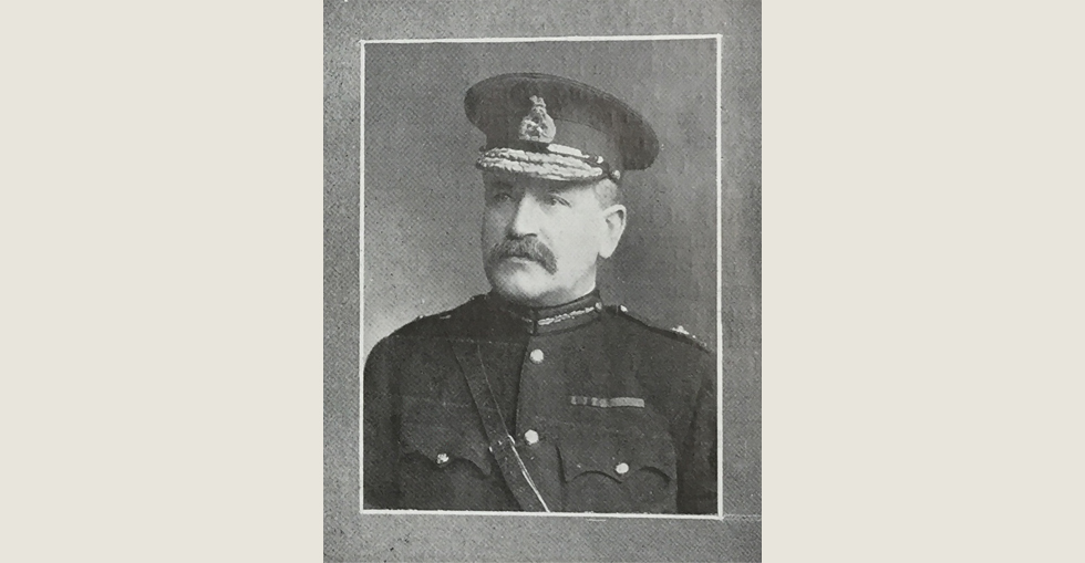 Lieutenant General Sir Charles Munro, who left London in Oct 1915 to take over the duties of Commander-in-Chief in the Dardanelles.