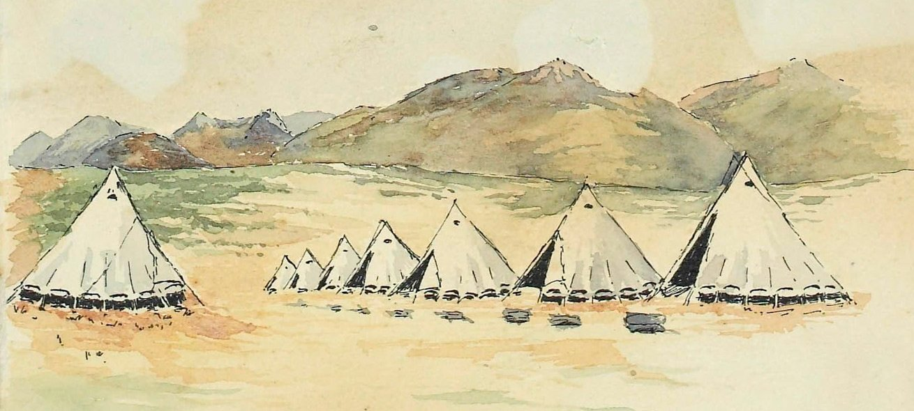 Sketches by Lieutenant-Colonel Arthur O'Neill Chichester