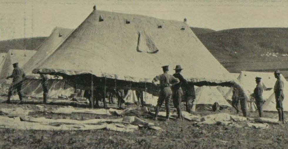 Australians in camp