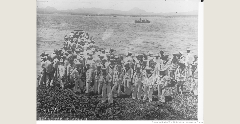 British troops landing at the Dardanelles