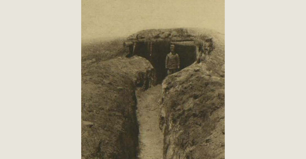 From the Turkish side: A Turkish trench on the walls of Troy