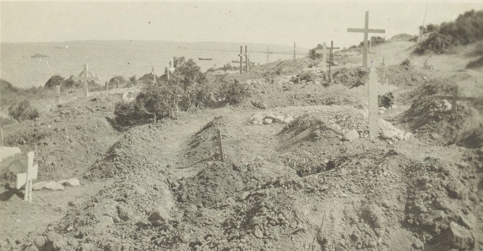 Graves in Gallipoli