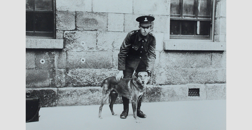 The mascot of the Pals battalion
