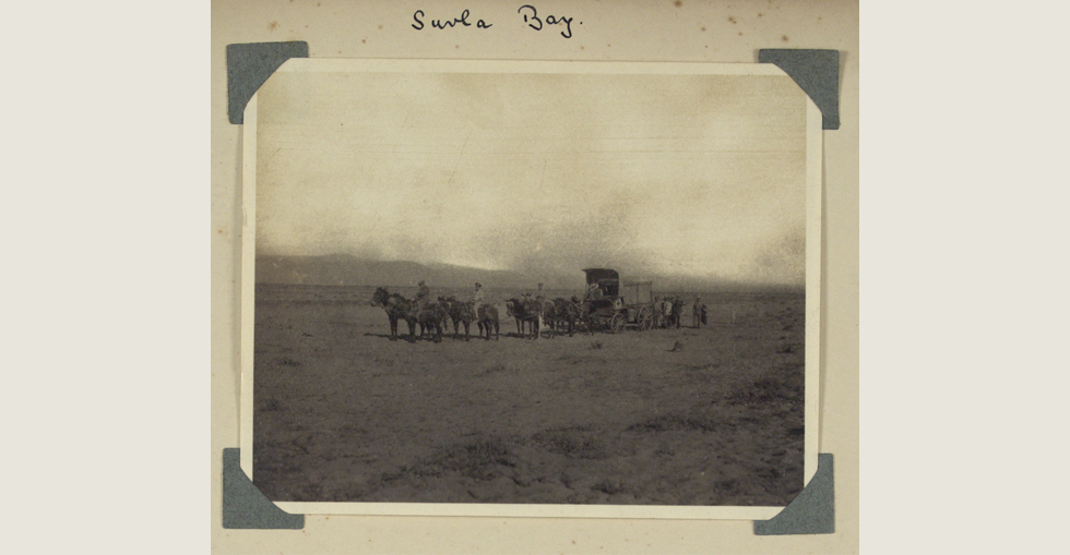 Ambulance cart on Suvla Bay