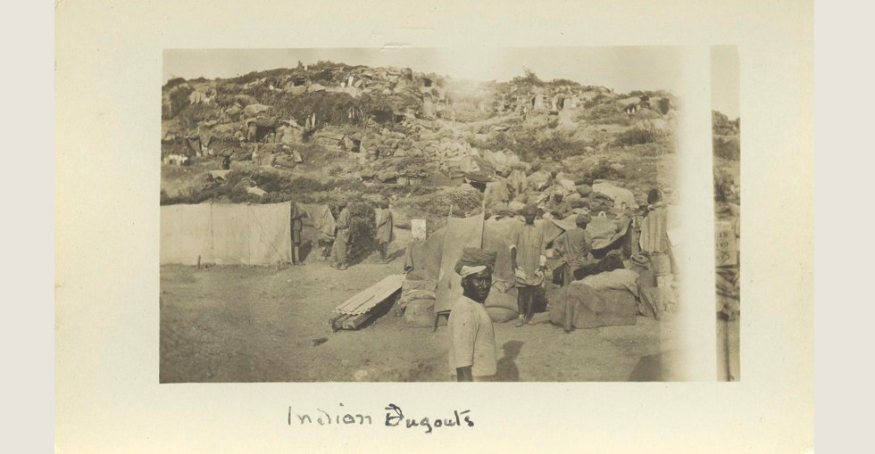 Indian dugouts [Gallipoli]