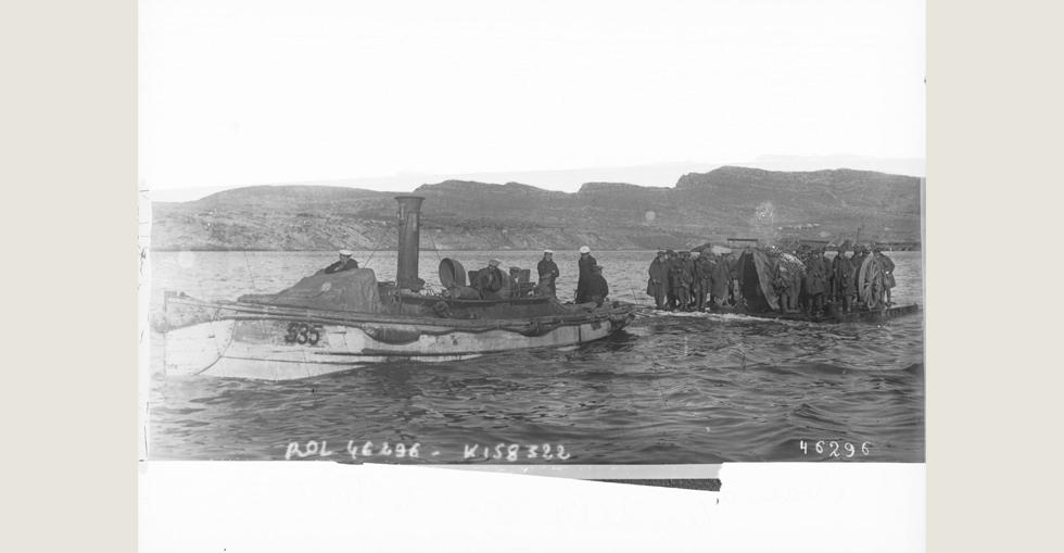 Evacuation in January 1916