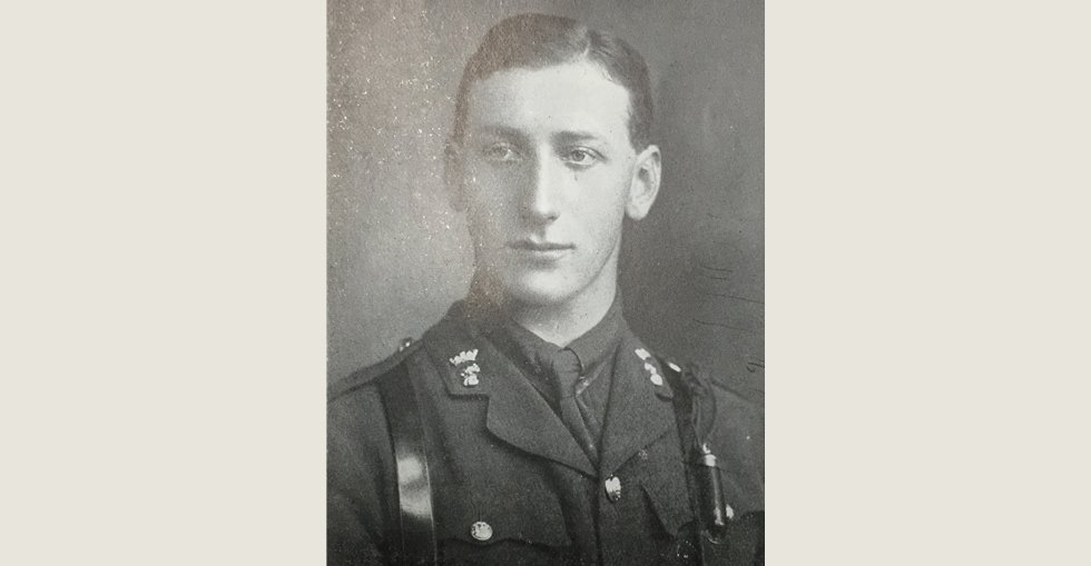 Lieutenant John Hartley Schute, 6th Battalion Royal Irish Fusiliers who died on 15 August in the Dardanelles.