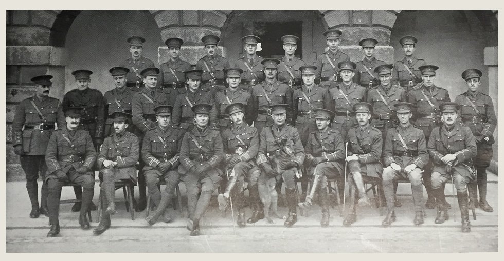 Officers of the 7th Battalion RDF