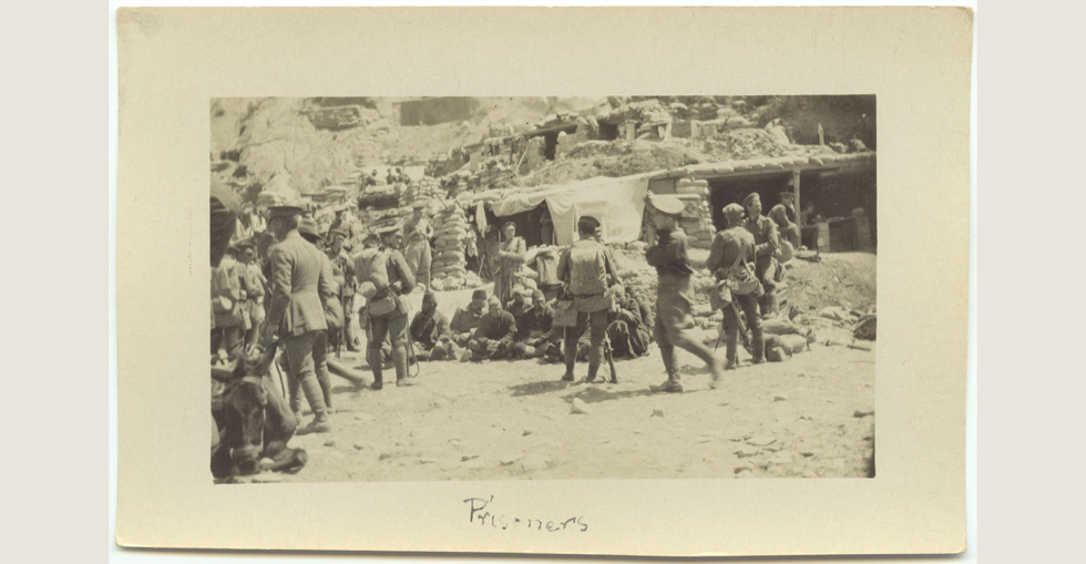 Prisoners in Gallipoli