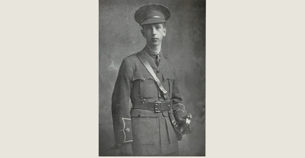 Second Lieutenant Thomas A.W. Deane, Royal Marine Light Infantry, who was killed in action at the Dardanelles on 10 May 1915