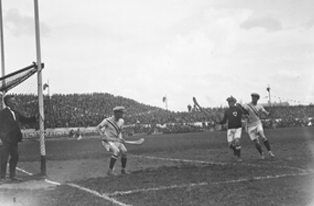 Ireland- USA hurling match in the Tailteann Games, 1924. (NLI)