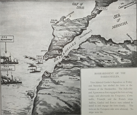 The aim of the naval campaign
